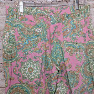 Lauren Ralph Lauren Pants & Jumpsuits - LRL Ralph Lauren Pink Paisley Pants